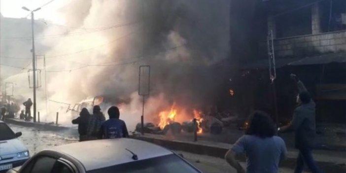 Afrin'de terör saldırısında son durum 6 ölü 25 yaralı