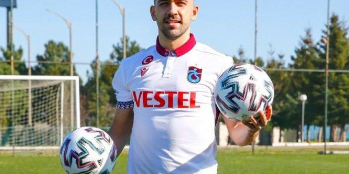 Trabzonspor'da Bakasetas ile 3,5 yıllık sözleşme imzalandı