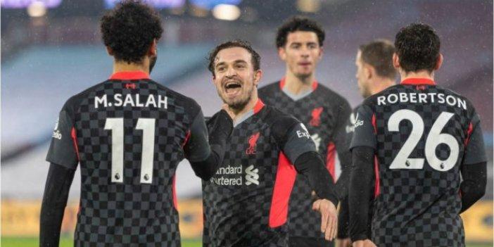 Liverpool, 3 puanı 3 golle aldı