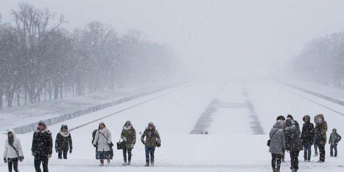 ABD'nin doğu yakası kar fırtınası etkisi altında