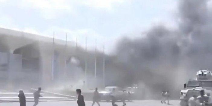 Aden Havalimanı'nı vuran roketler İran yapımı