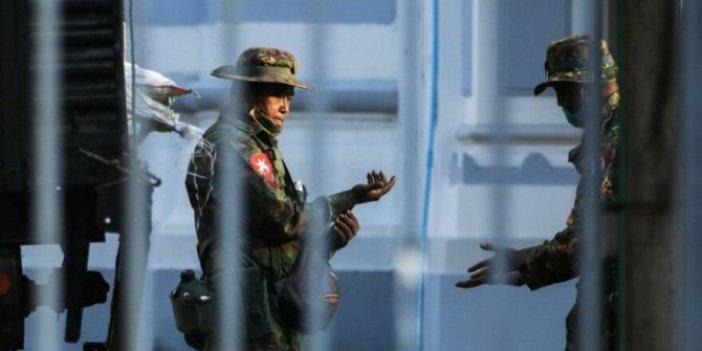 Myanmar'da darbe. Ordu yönetime el koydu