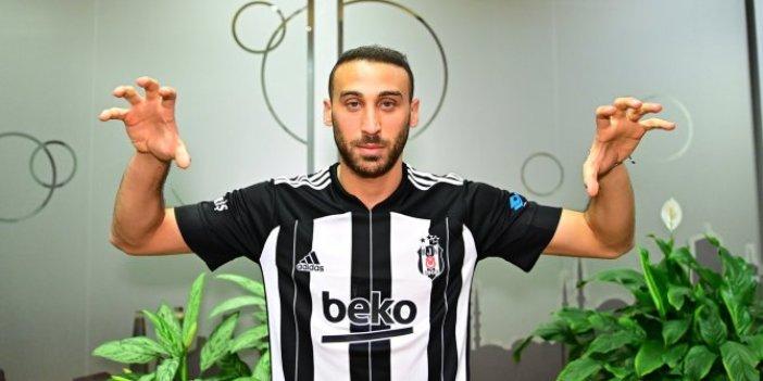Cenk Tosun'un Beşiktaş formasını giydiği anlar böyle paylaşıldı
