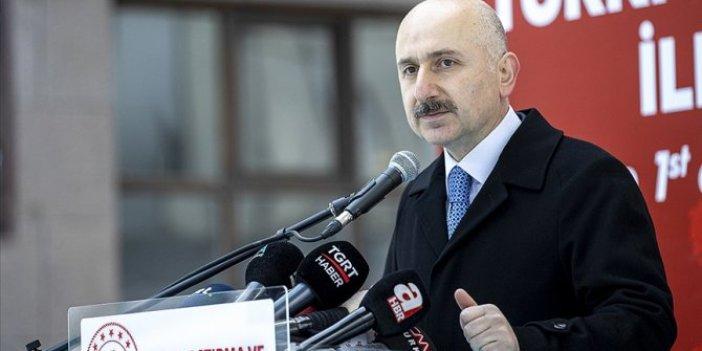 Ulaştırma ve Altyapı Bakanı Adil Karaismailoğlu müjdeyi verdi! Metro hattı yıl sonu açılıyor