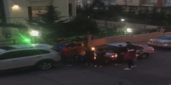 Bağcılar'da yasak delen günü partisi