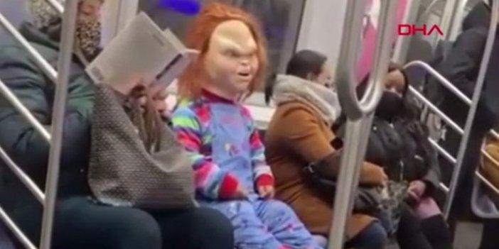 Katil bebek Chucky ile viral olan sosyal deney