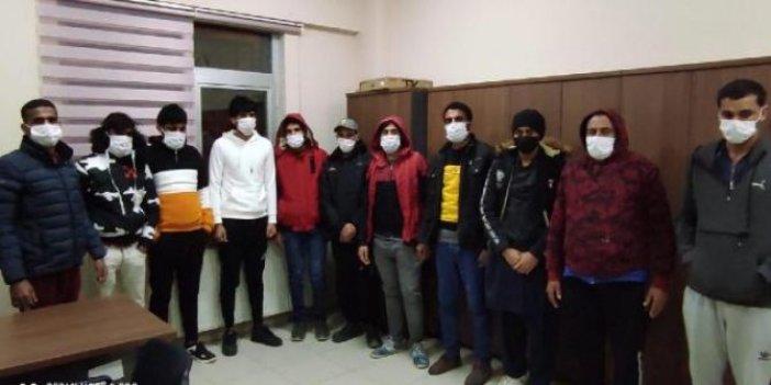 Darıca'da göçmen kaçakçıları yakalandı