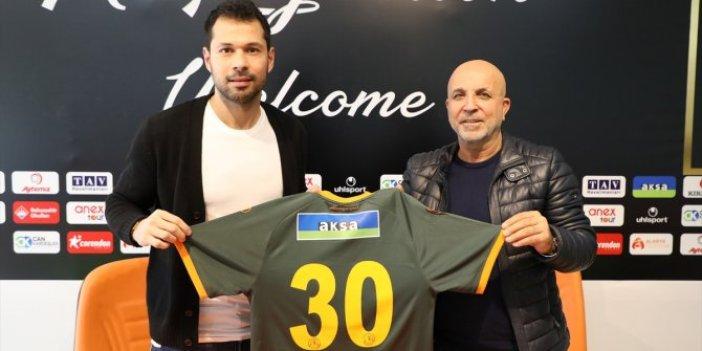 Serkan Kırıntılı Alanyaspor'a transfer oldu