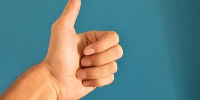 İnsan baş parmağı hakkında flaş bilgi ortaya çıktı