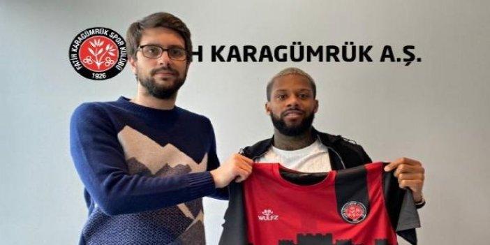 Beşiktaş'tan ayrılan Lens resmen Karagümrük'te