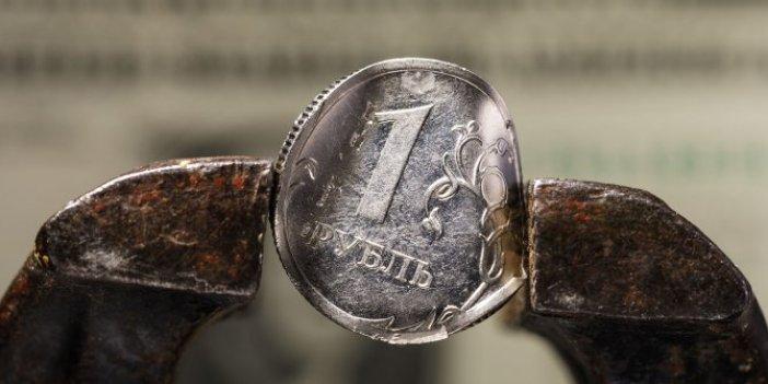 Rus ekonomisinde daralma şoku