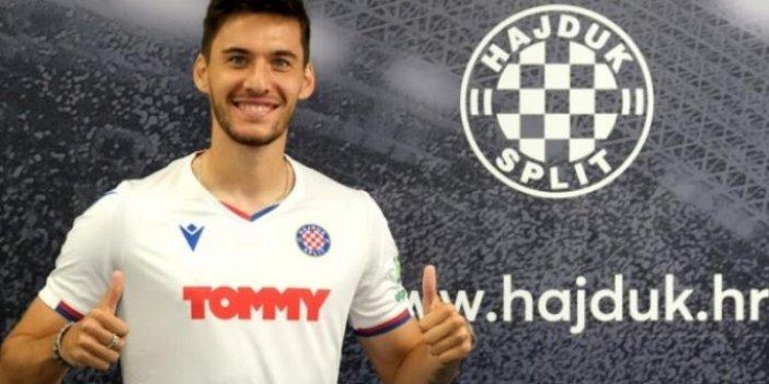 Beşiktaş'ın Hajduk Split'e kiralık olarak verdiği Umut Nayır'dan Boğaziçili öğrencilere destek
