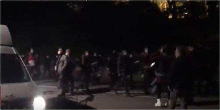 Boğaziçi Üniversitesi öğrencilerine polisten müdahale