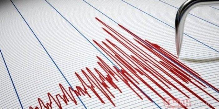Sivas'ta 4.7 büyüklüğünde deprem