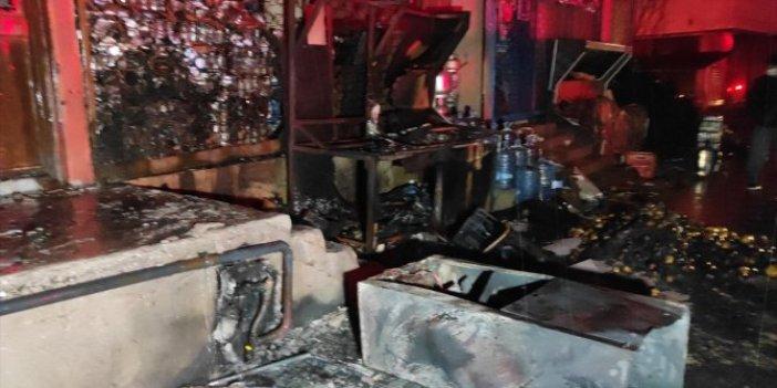 İstanbul Tuzla'da feci patlama