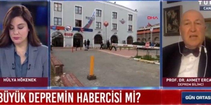 Habertürk'te Hülya Hökenek'ten ikinci sansür. Bu sefer de deprem uzmanı Ahmet Ercan'ı yayından aldılar