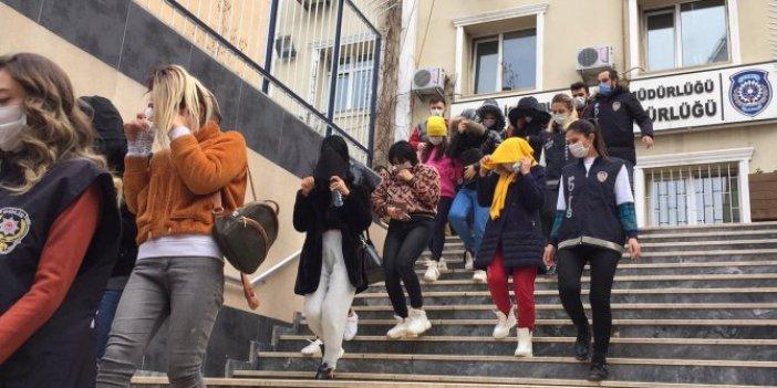 İstanbul polisinden fuhuş çetesine operasyon. Sokağa çıkma yasağında evlere kadın servisi
