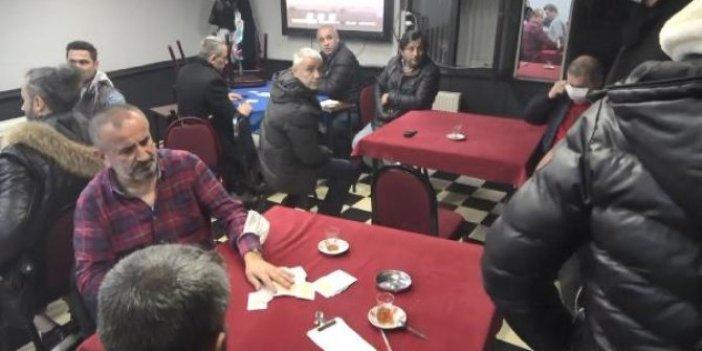 İstanbul'da kumarhaneyi dürümcü polisler bastı