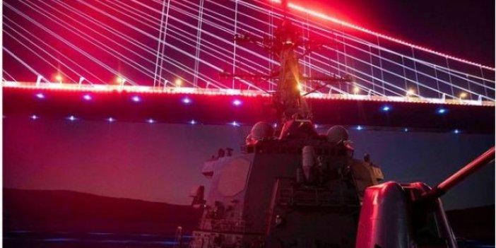 Boğazdan geçen ABD donanmasından aşağılık tehdit