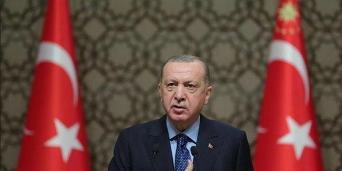 Erdoğan ödül töreninde konuştu