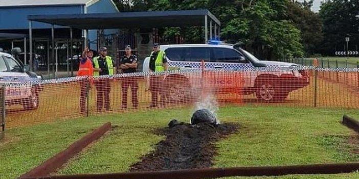 Avustralya'da dumanı tüterken bulundu. Polis alarma geçti. NASA devreye girdi