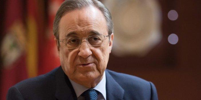 Real Madrid Başkanı Perez'den kötü haber