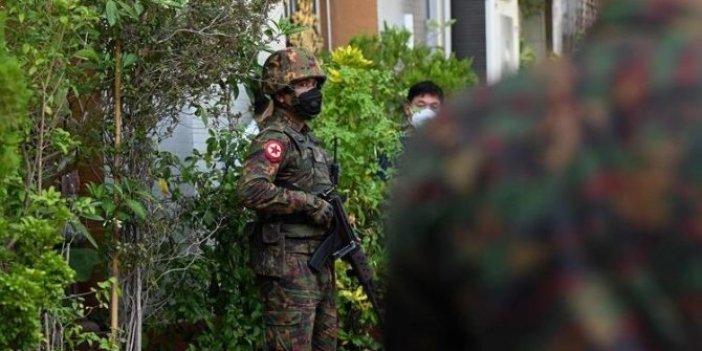 Myanmar ordusu açıkladı: 7 gün boyunca yasaklandı