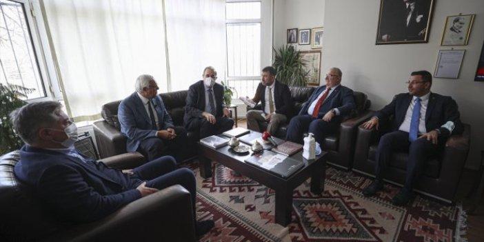 CHP'den YENiÇAĞ Gazetesi'ne ziyaret