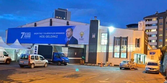 Beşiktaş spor salonunu AKP'ye tahsis etti