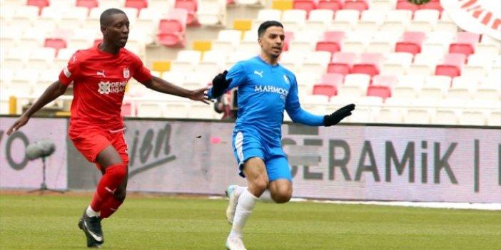 Sivasspor ile Erzurumspor yenişemedi