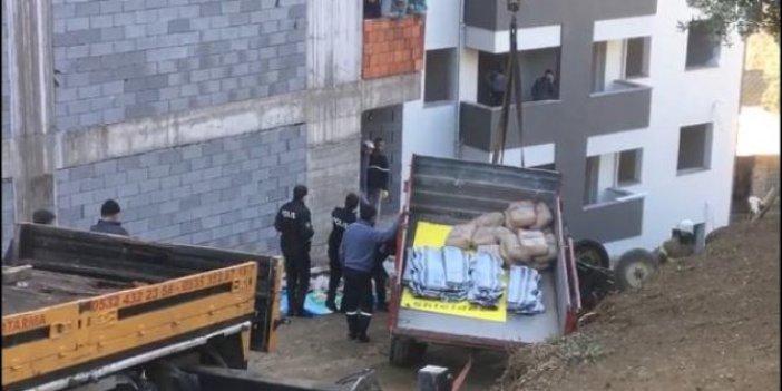 Bursa'da traktör devrildi gözyaşları sel oldu