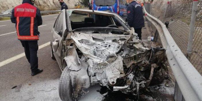 Tarsus'da feci kaza. Ölü ve yaralılar var